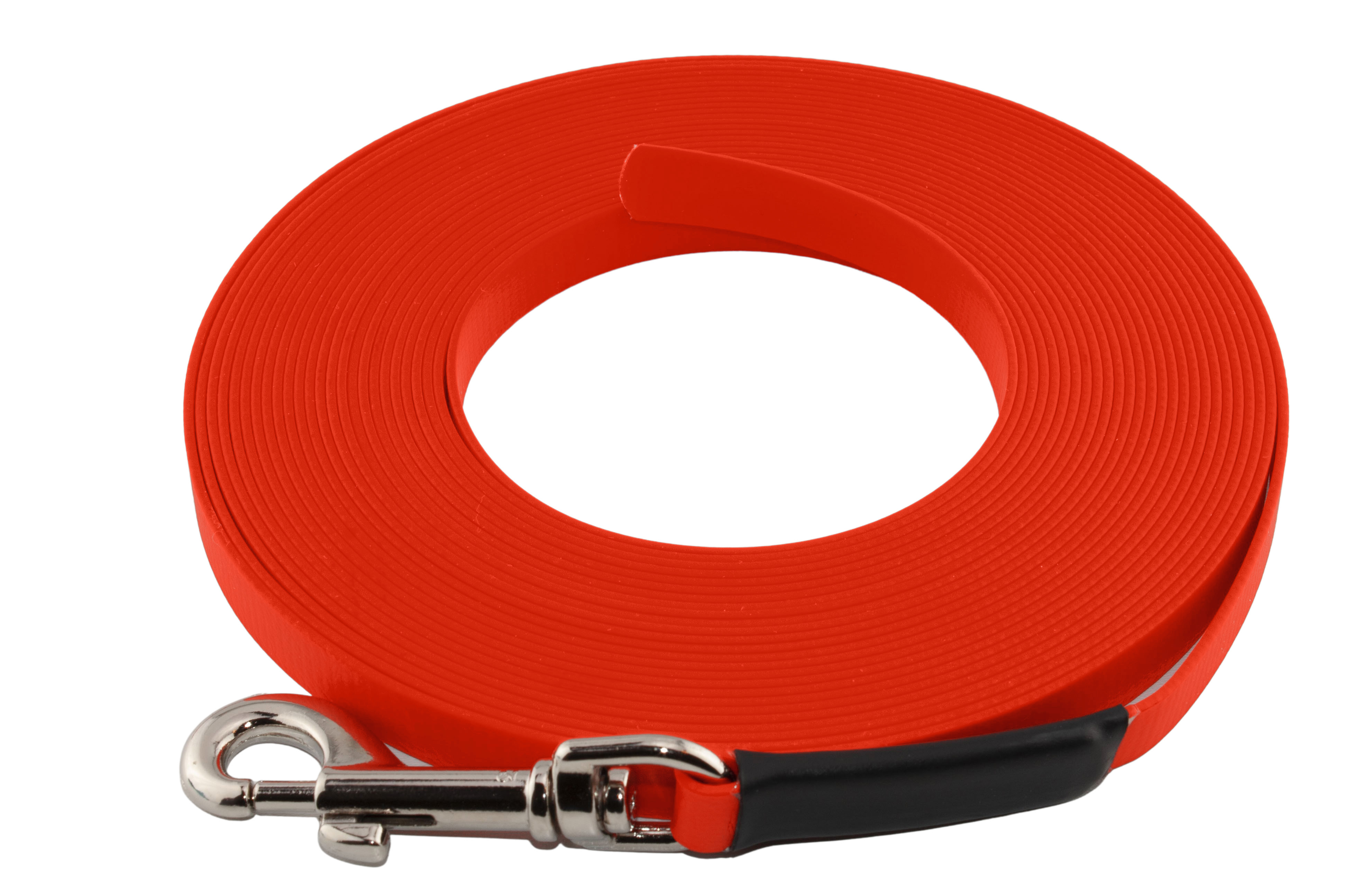 9 mm breit in vielen Farben ohne Handschlaufe gen/äht bis zu 30 Meter L/änge BioThane Schleppleine f/ür Hunde 5-15kg