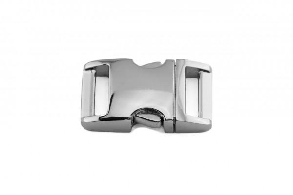 Alu-Max® Klickverschluss – silber glänzend