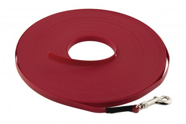 BioThane® Schleppleine – 9 mm Ultra Thin – Rot