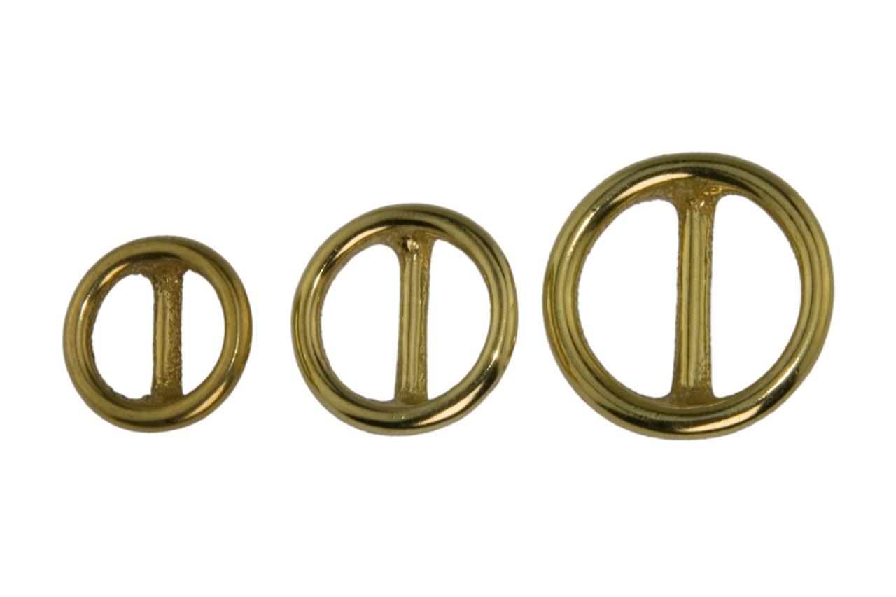Größen 10 Stück Ringe D-Ringe versch metall