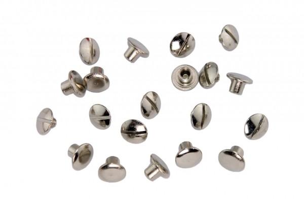 Buchschrauben – Stahl (silber)