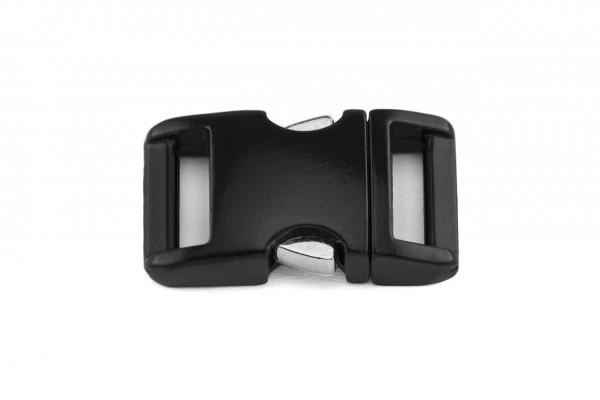 Alu-Max® Klickverschluss – schwarz matt