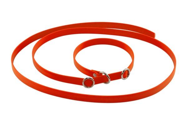 BioThane® Retrieverleine – 16 mm – Neon-Orange