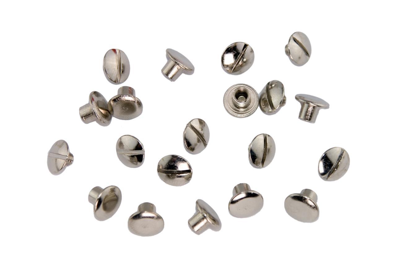 Nieten & Klemmen aus Edelstahl, Messing oder Stahl   LENNIE-Equipment
