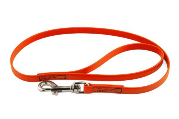 BioThane® Führleine – 13 mm Standard – Neon-Orange
