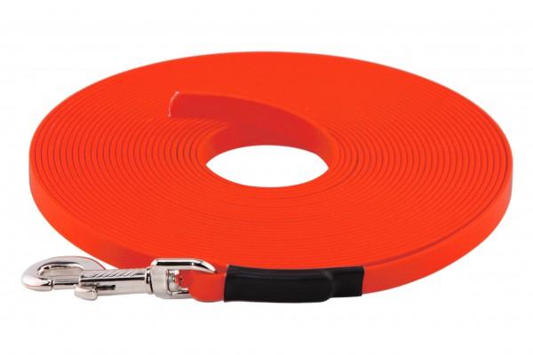 BioThane® Schleppleine – 19 mm Standard – Neon-Orange